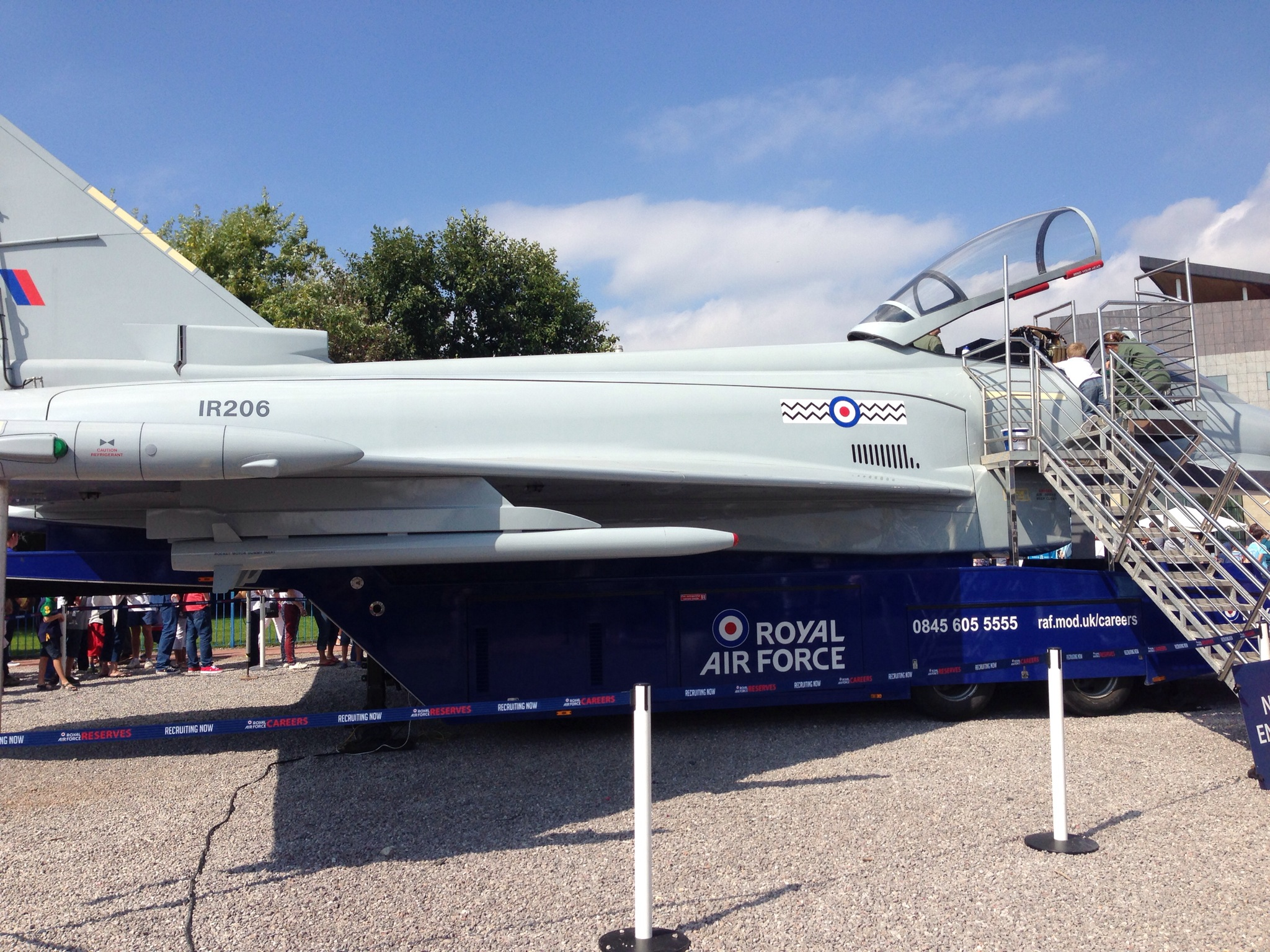 RAF at Cardiff Bay Meet The Forces Day