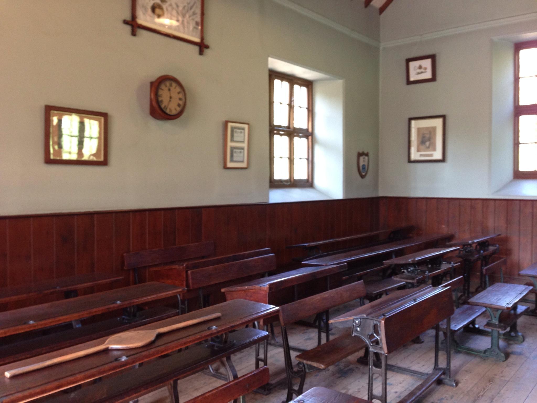 Inside Maestir School, St Fagans
