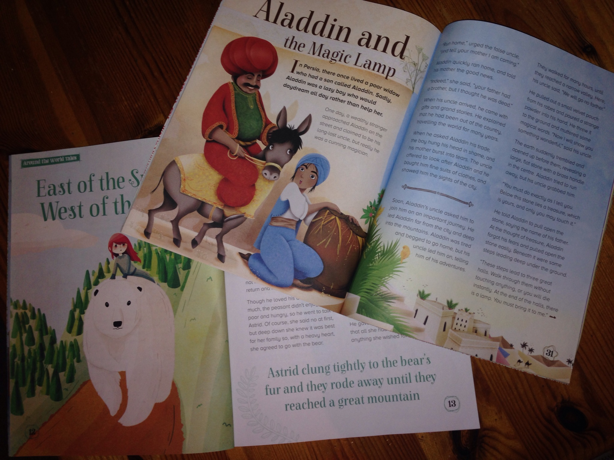 Beautifully illustrated, timeless stories