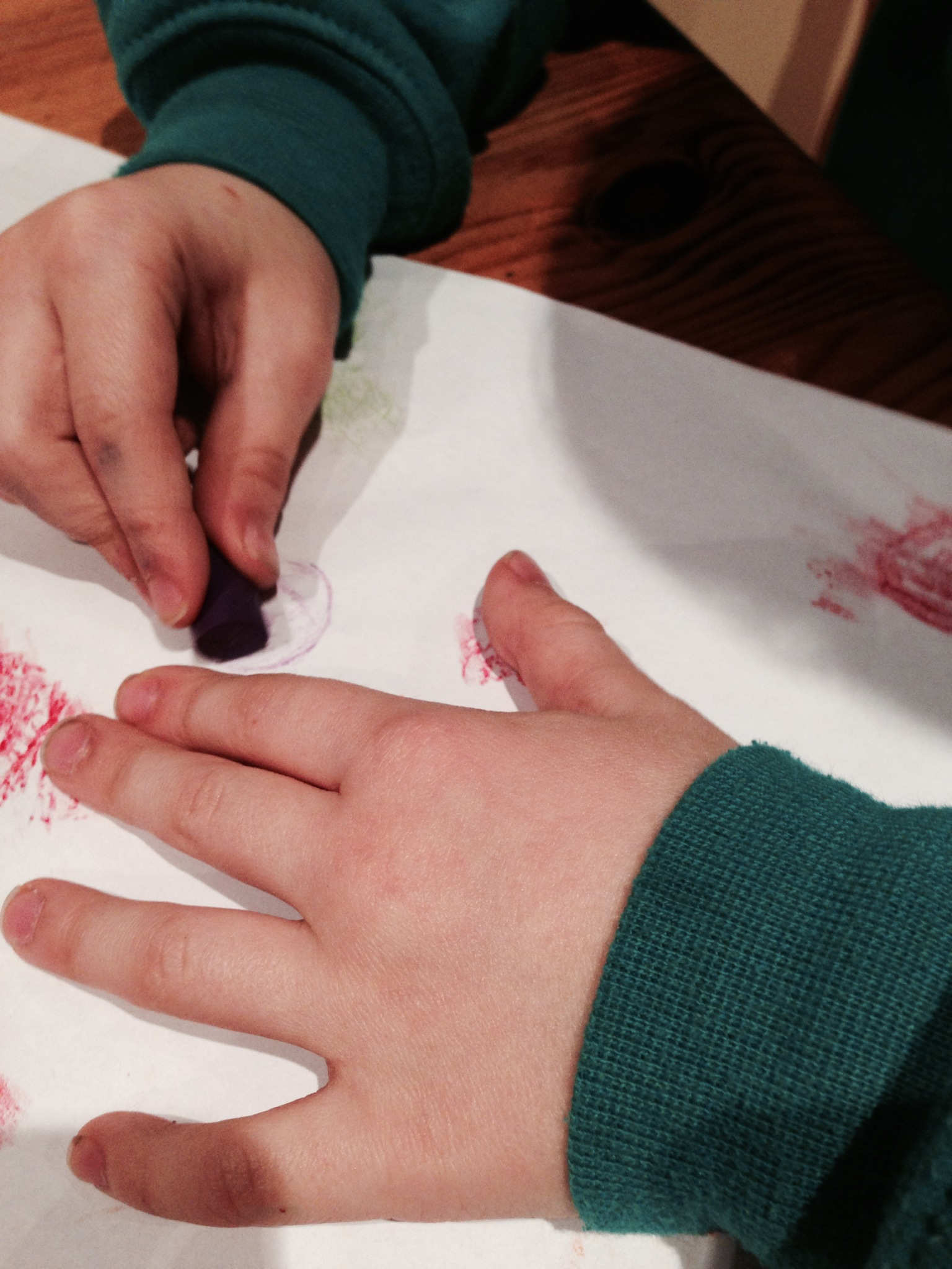 Coin rubbings