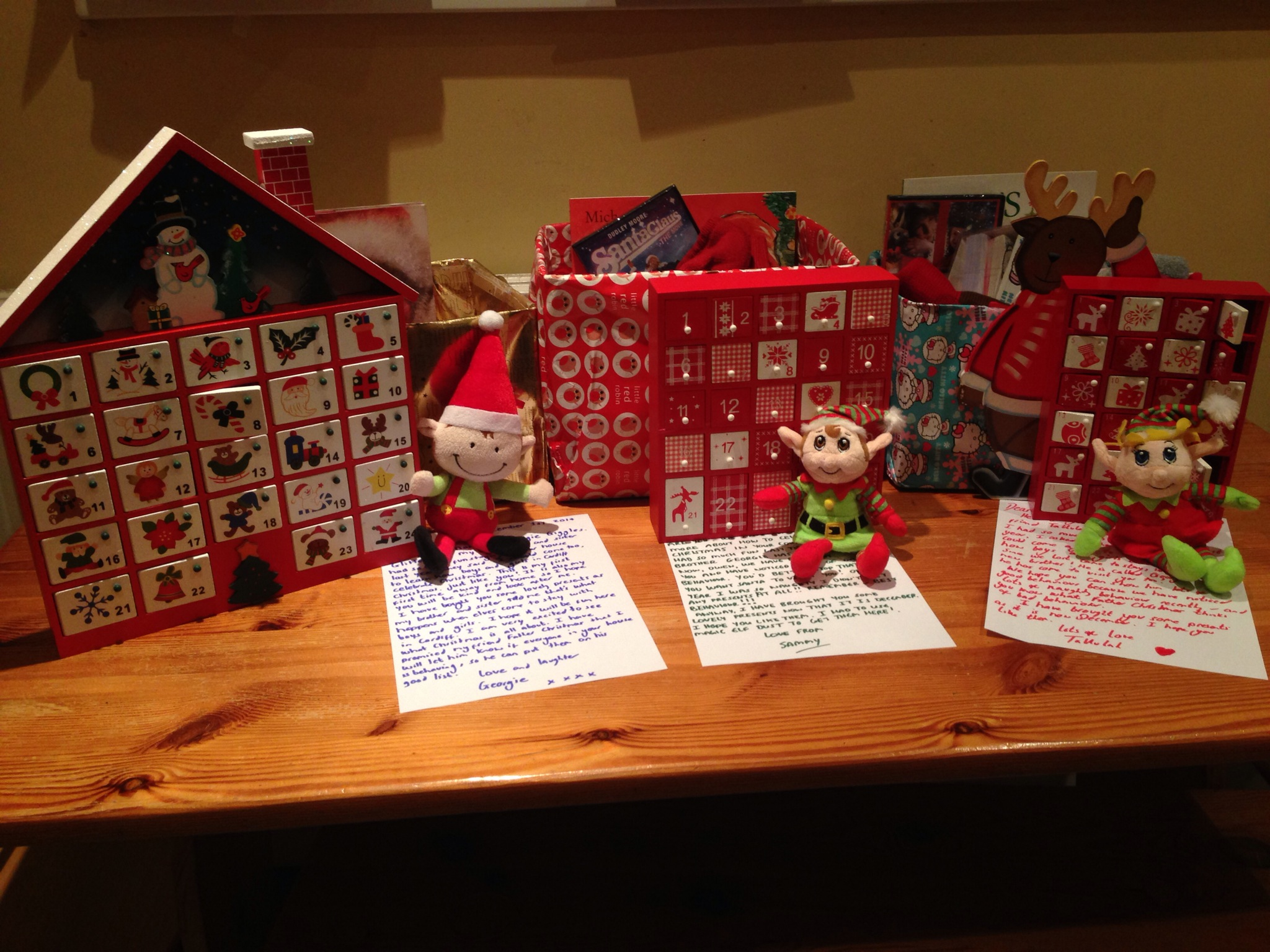Our elves have come with a box-full of goodies!