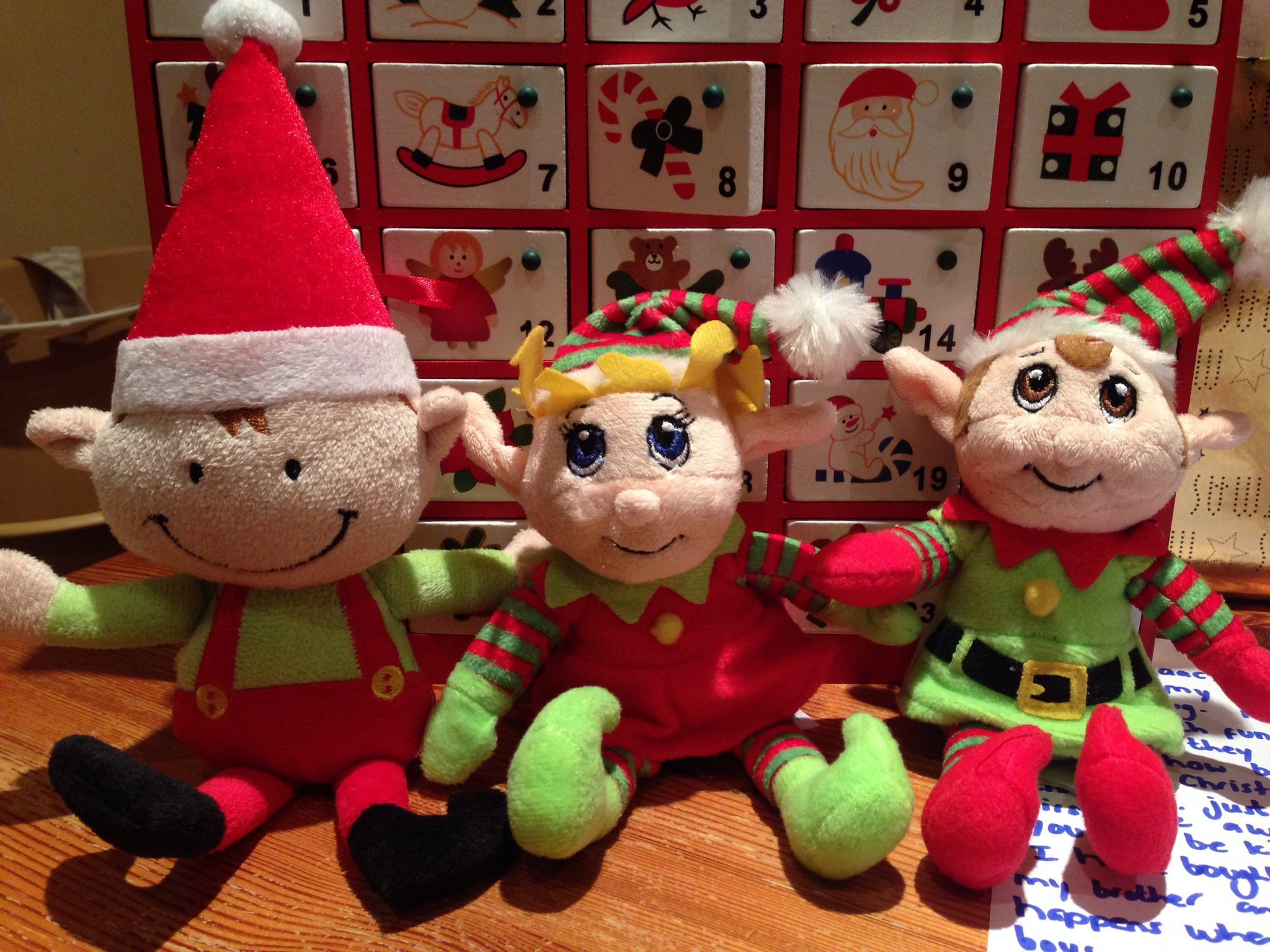 Our elves have arrived!