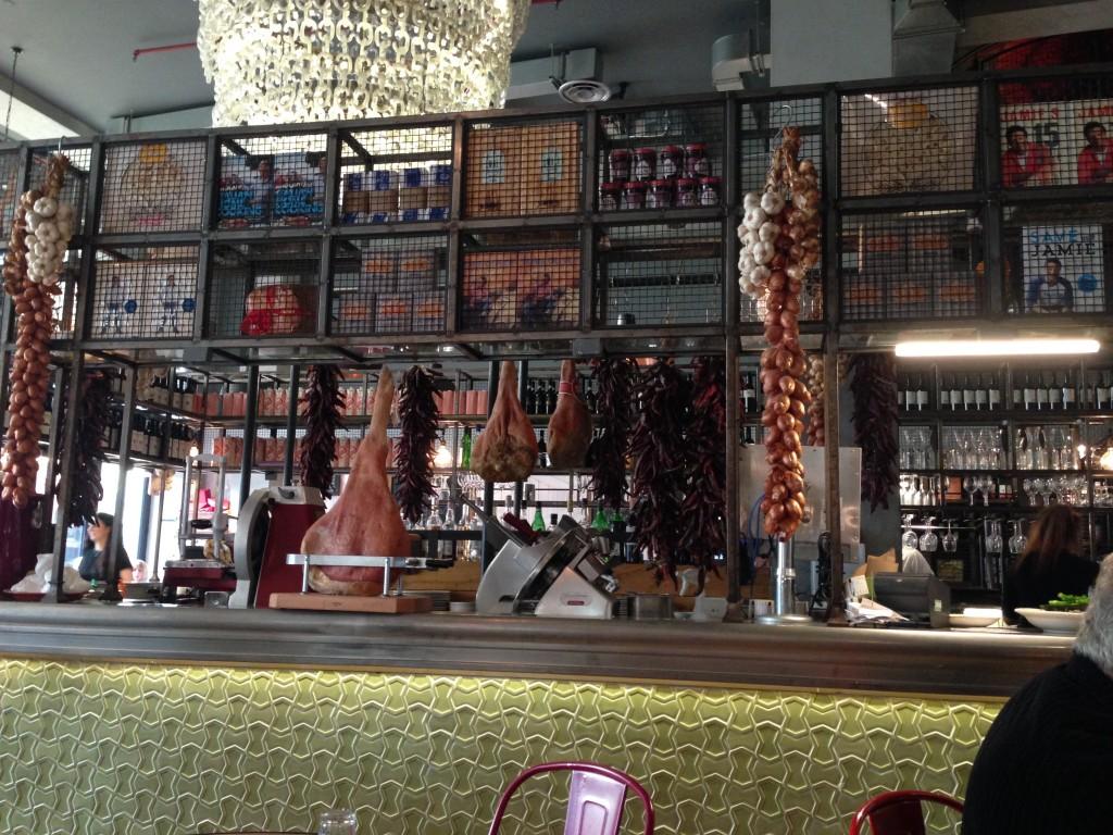 Inside Jamie's Italian, Cardiff