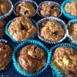 Annabel Karmel's pineapple and raisin muffins