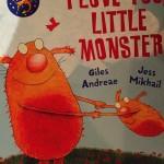 Book I Love You Little Monster