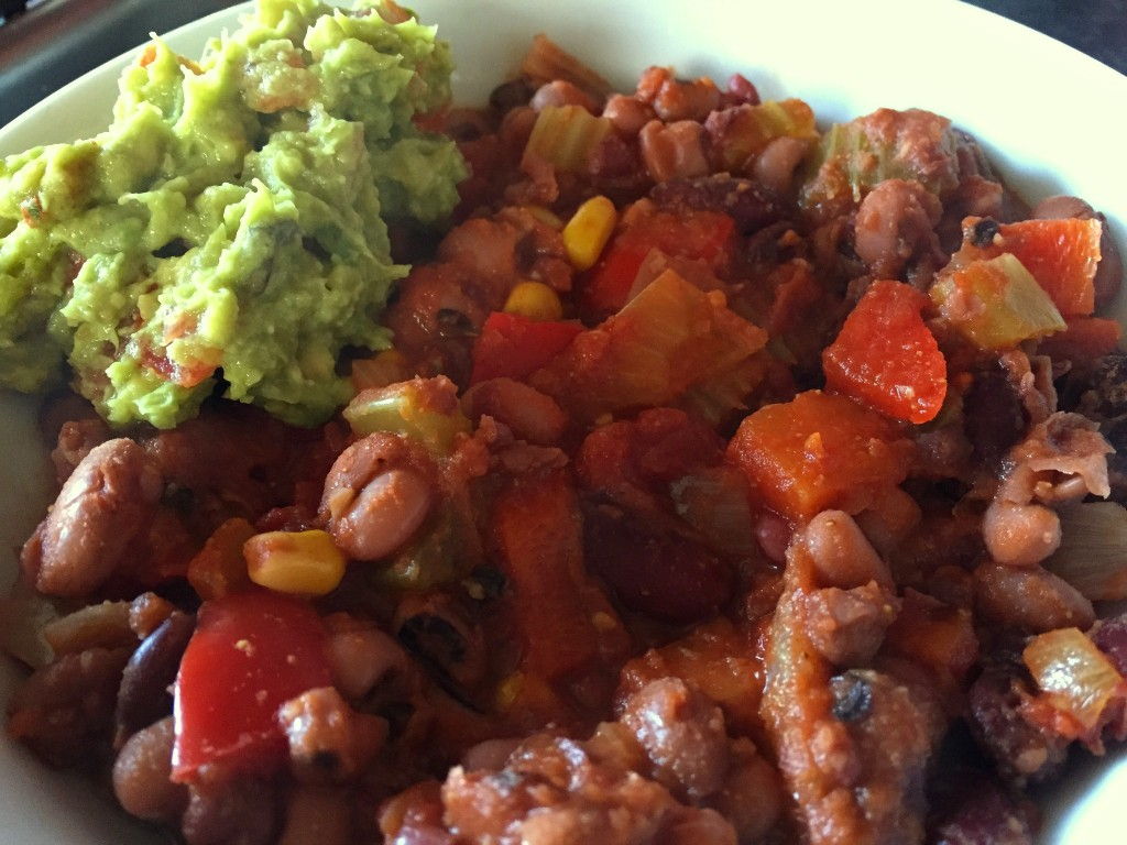 four bean chilli