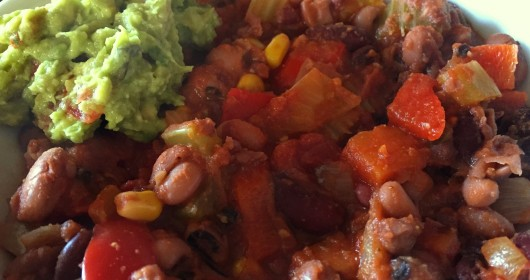 four bean chilli