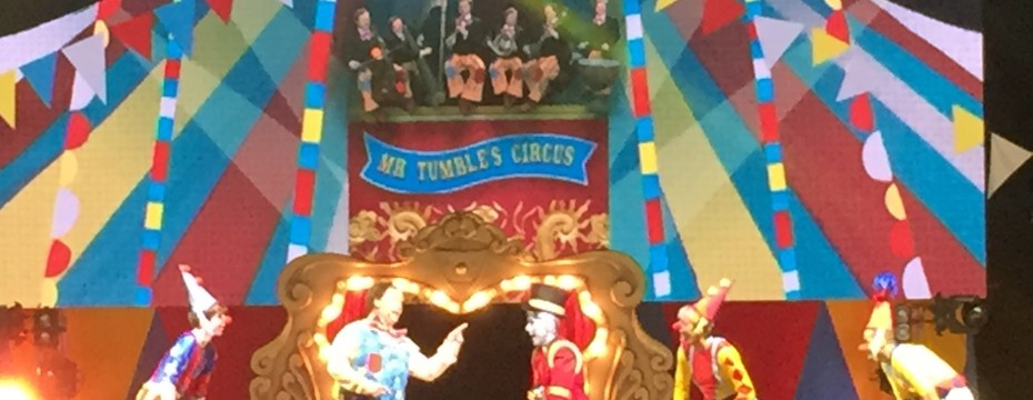 CBeebies Live Justin and Friends Mr Tumble's Circus