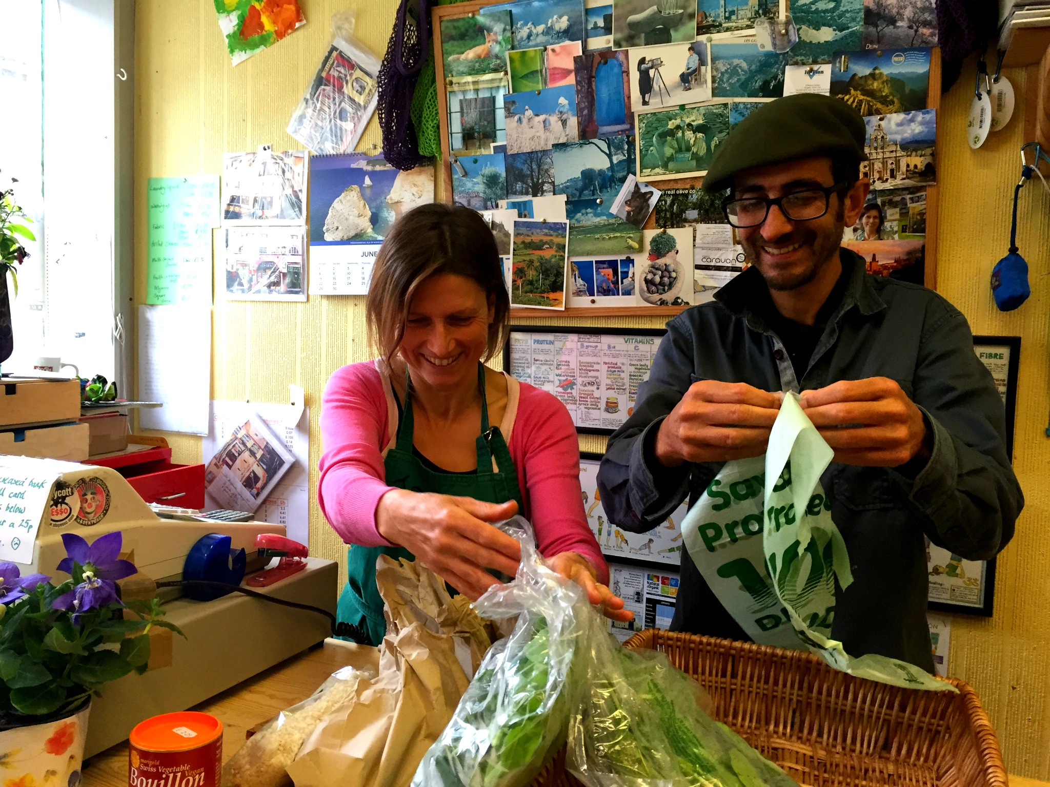 Jo and Neill of Jo's Organic Stores