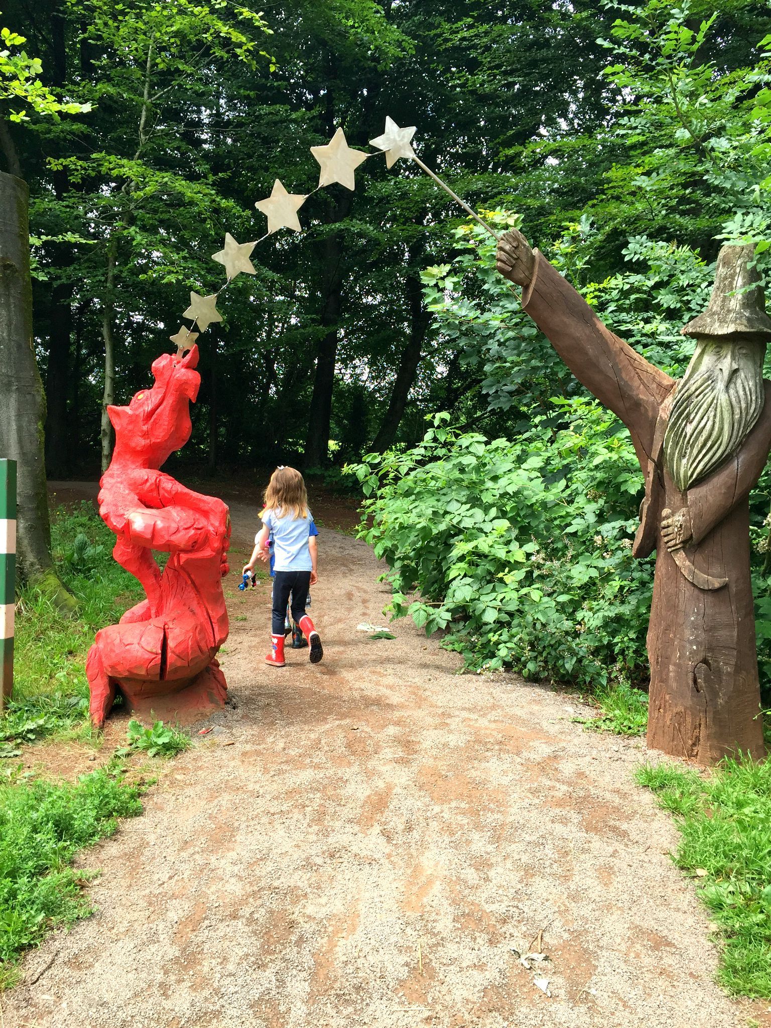 Fforest Fawr Sculpture Trail