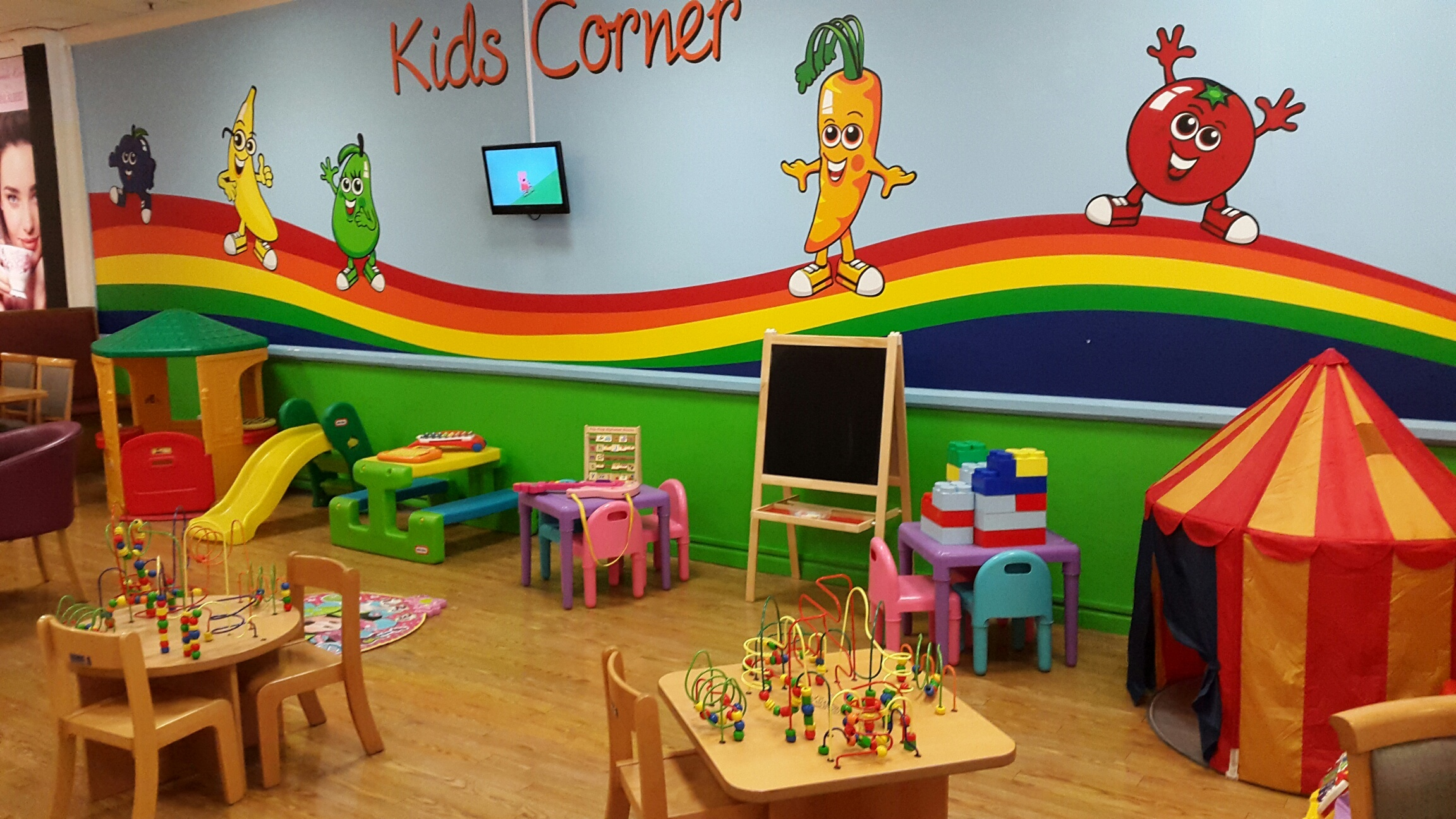 House of Fraser Cardiff Restaurant Kids Corner