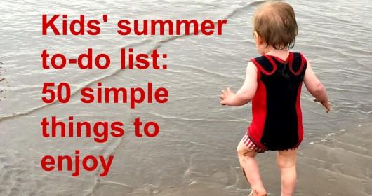 Kids' to do list