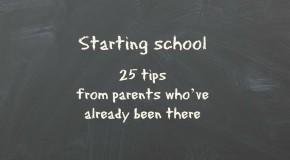 Starting School tips Cardiff Mummy Says 2