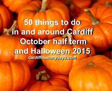 halloween cardiff 2015 half term