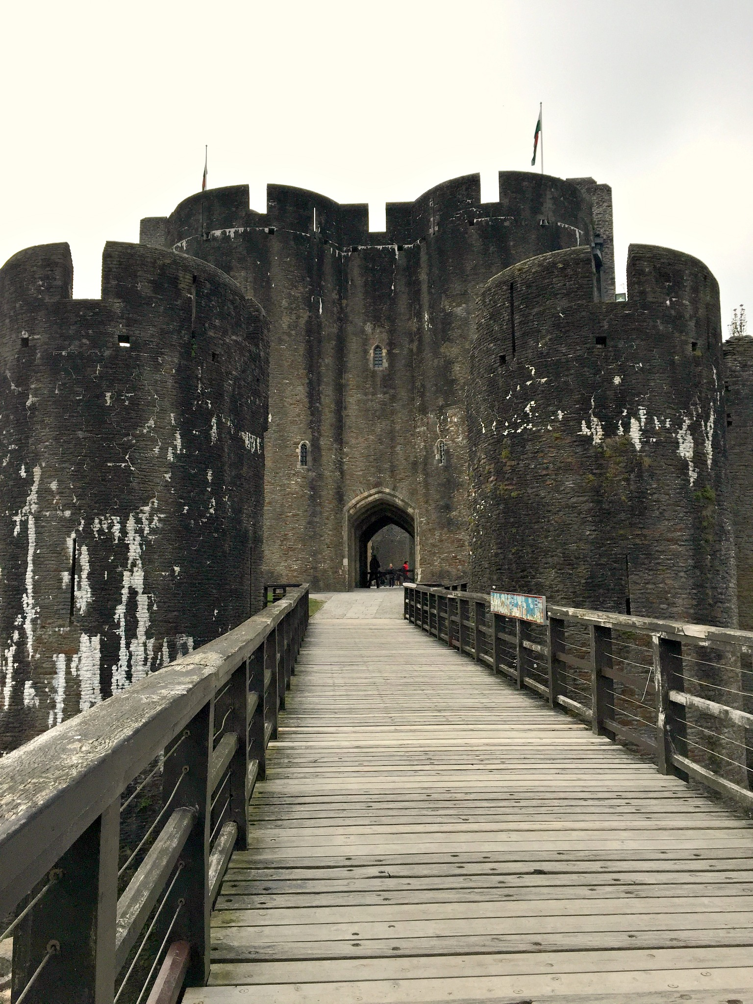 Caerphilly Castle 2