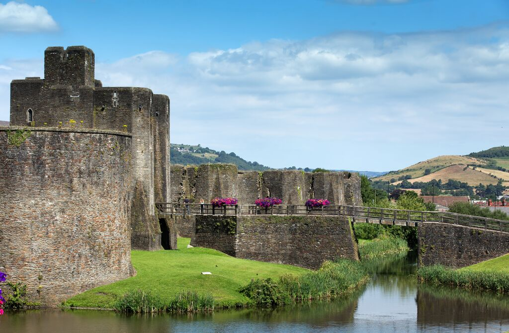 Caerphilly Castle Cadw Pic