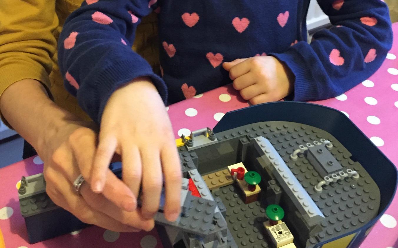 Cardiff Mummy Says Argos Lego photo cropped 3