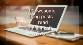 10 awesome blog posts I read this month logo