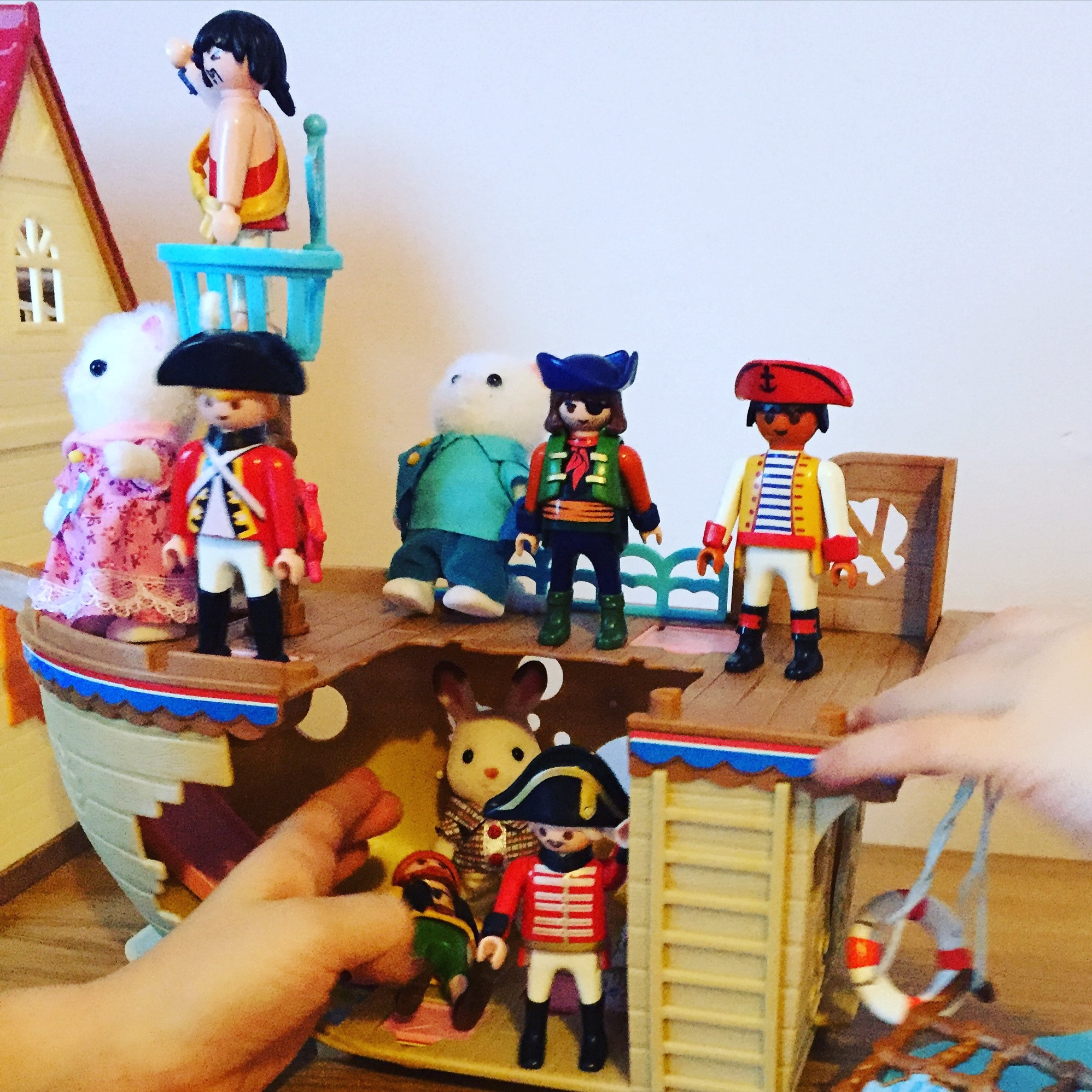 Pirates and Sylvanians
