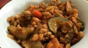 vegetable and bean hot pot