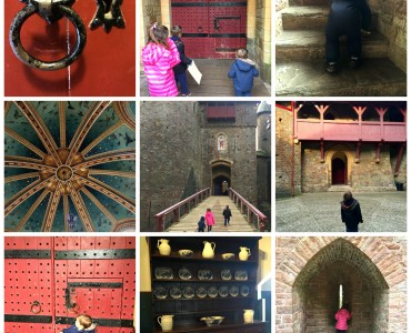 Castell Coch collage 3