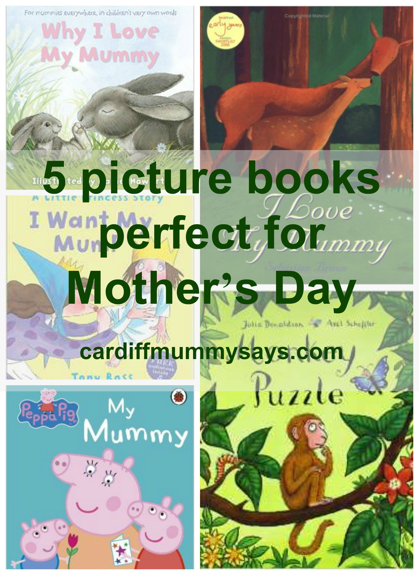 Mummy Books collage 1 with text