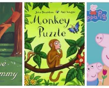Mummy Books collage 2