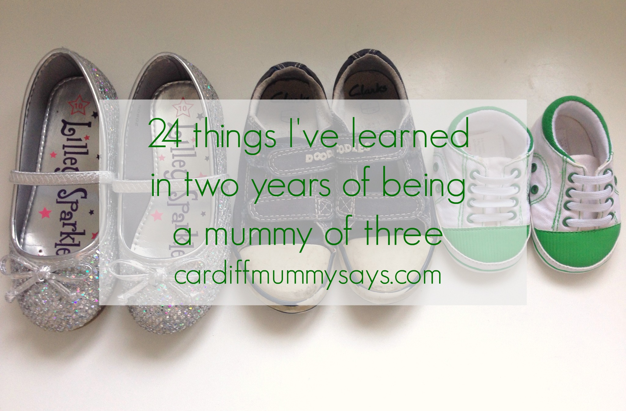 24 things I've learned in two years of being a mummy of three