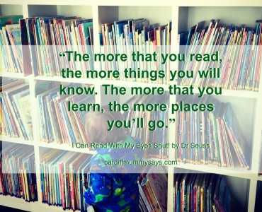 The More That You Read quote