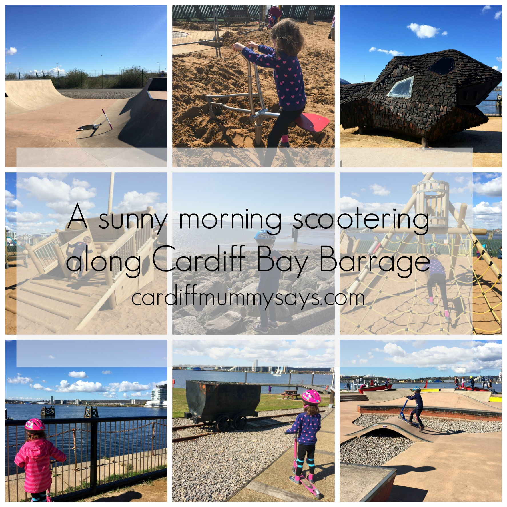 Cardiff Bay Barrage collage 2