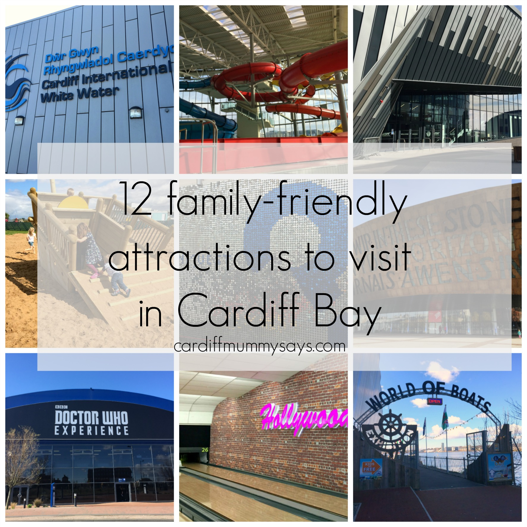 Cardiff Bay Collage 1 with text