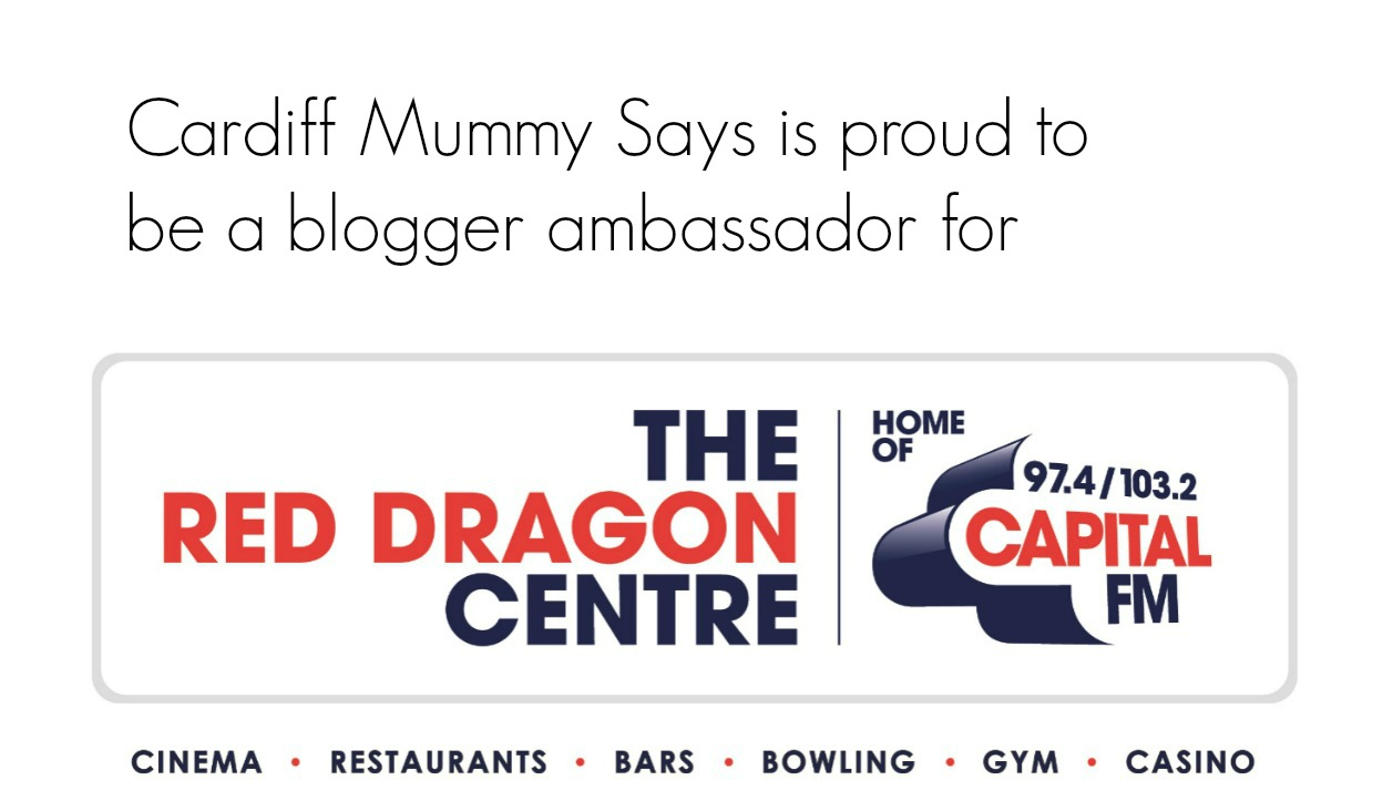 Cardiff Mummy Says Blogger ambassador for The Red Dragon Centre