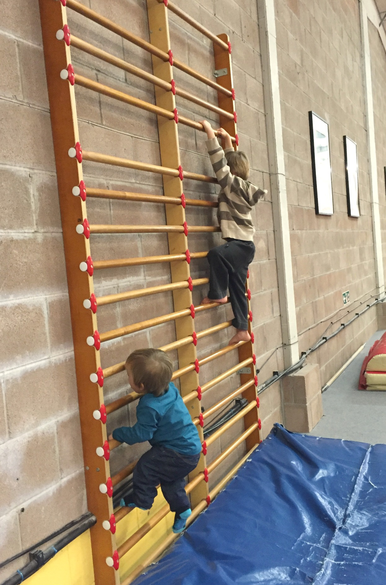 Child is a climber 1