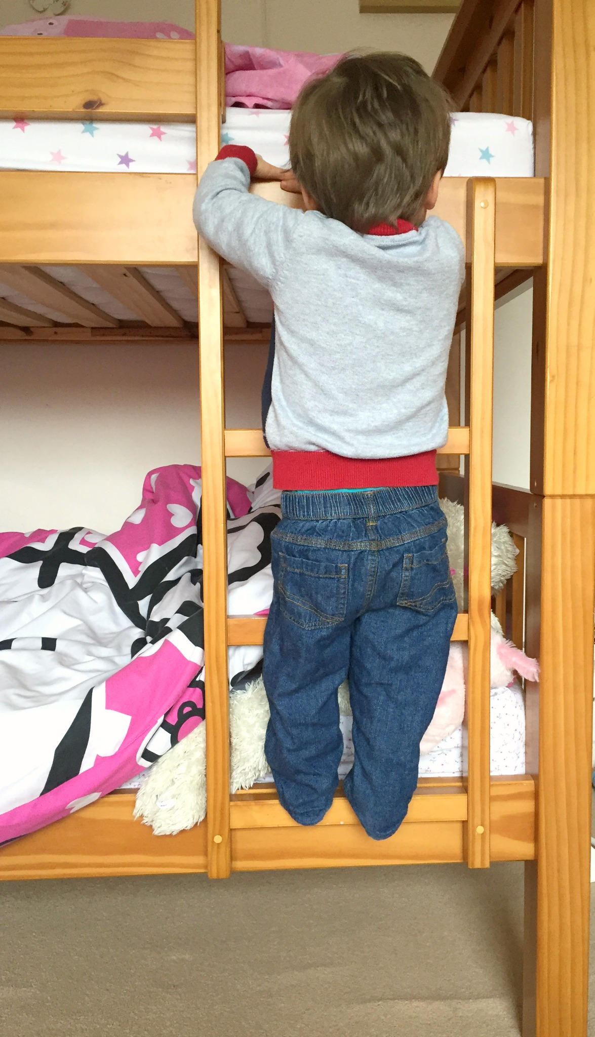 Child is a climber 3