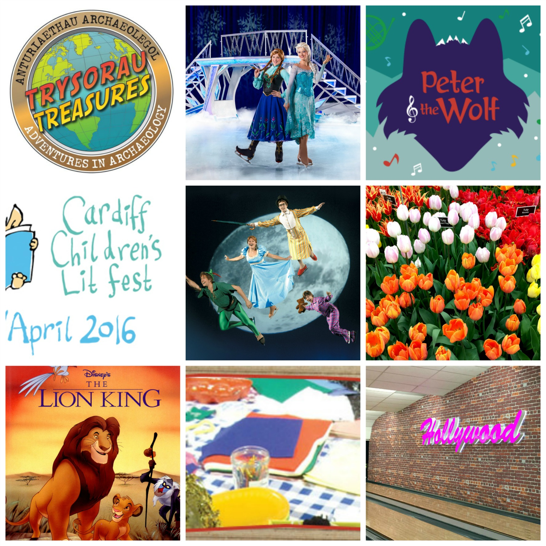 Events April 2016 collage
