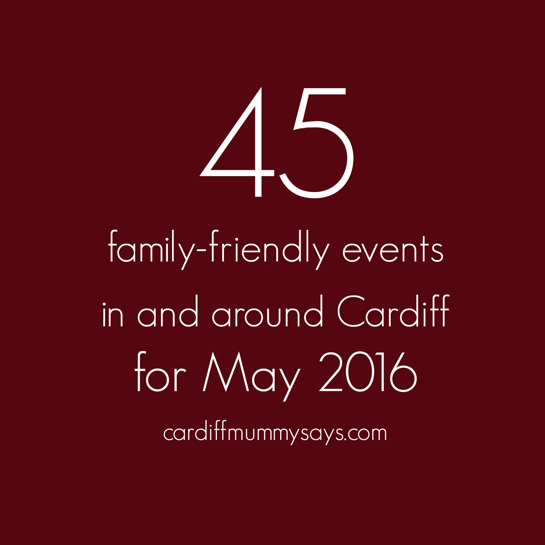 May family-friendly events 1