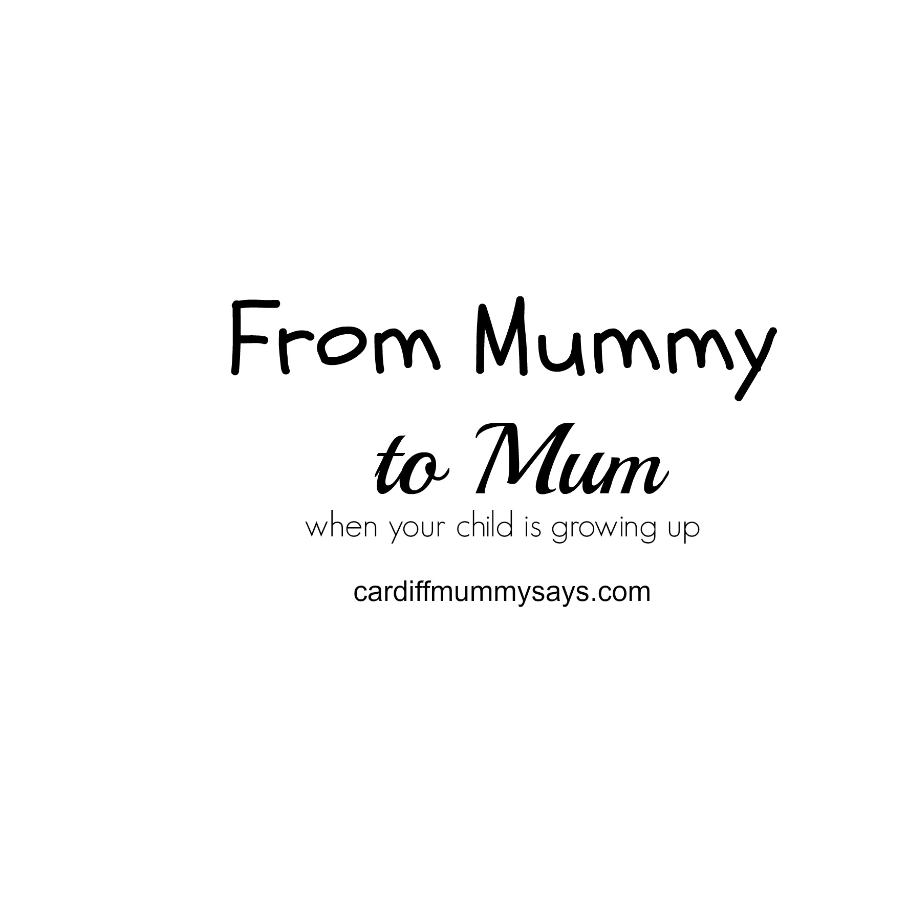 25 05 2016 From Mummy To Mum