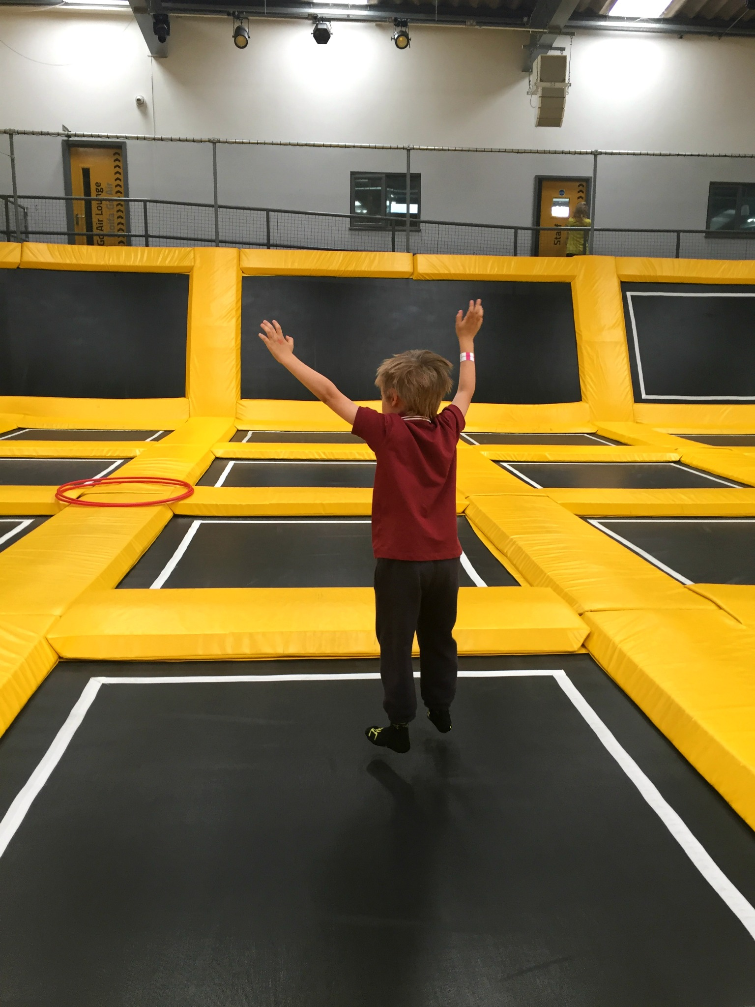 Air Tots pre-school trampoline sessions at Go Air Cardiff