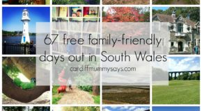 Cardiff Mummy Says Free days out collage and text