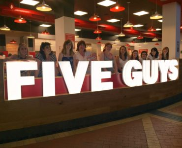 Five Guys Cardiff #11mumsFiveGuys