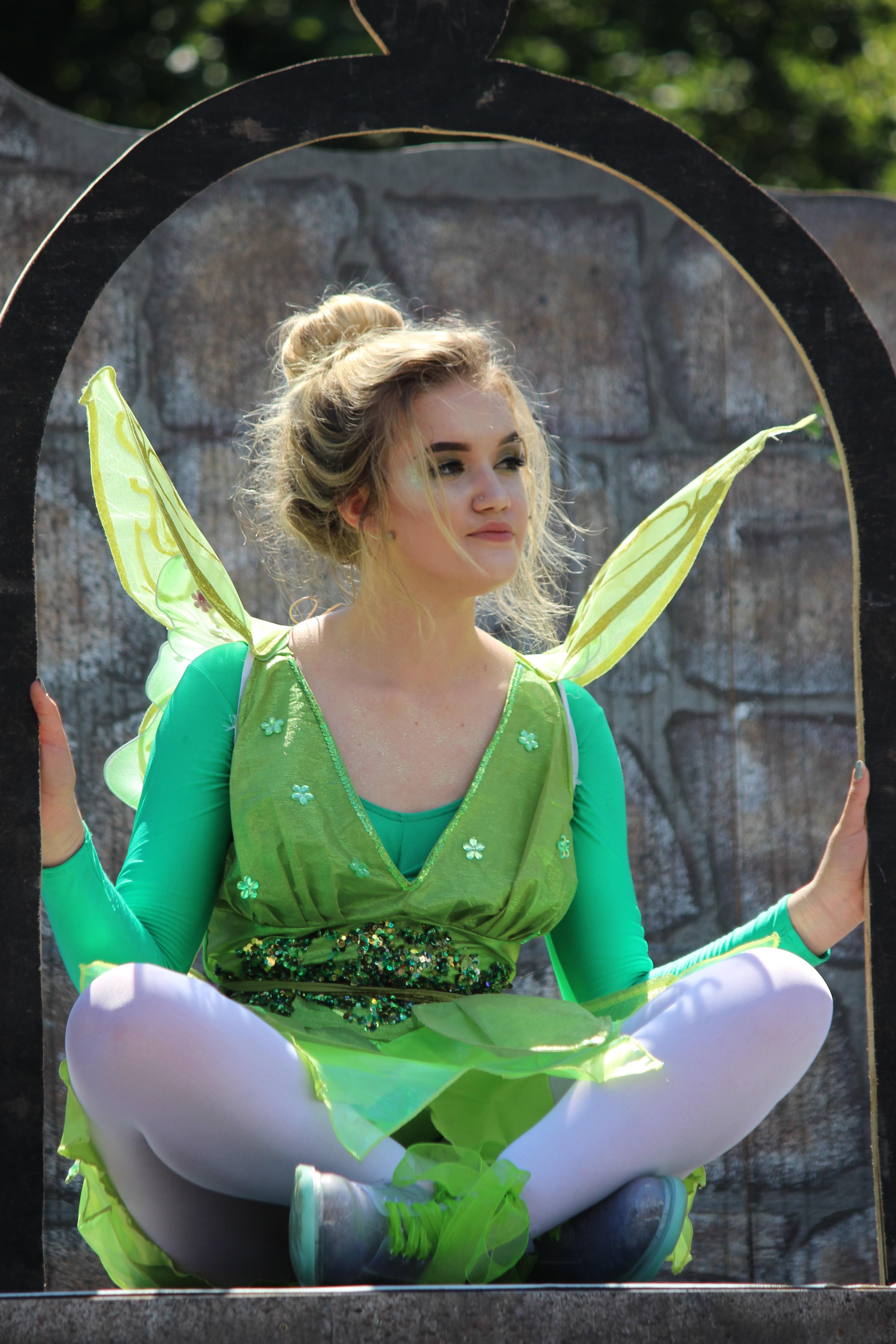 Meg Jones as Tinkerbell