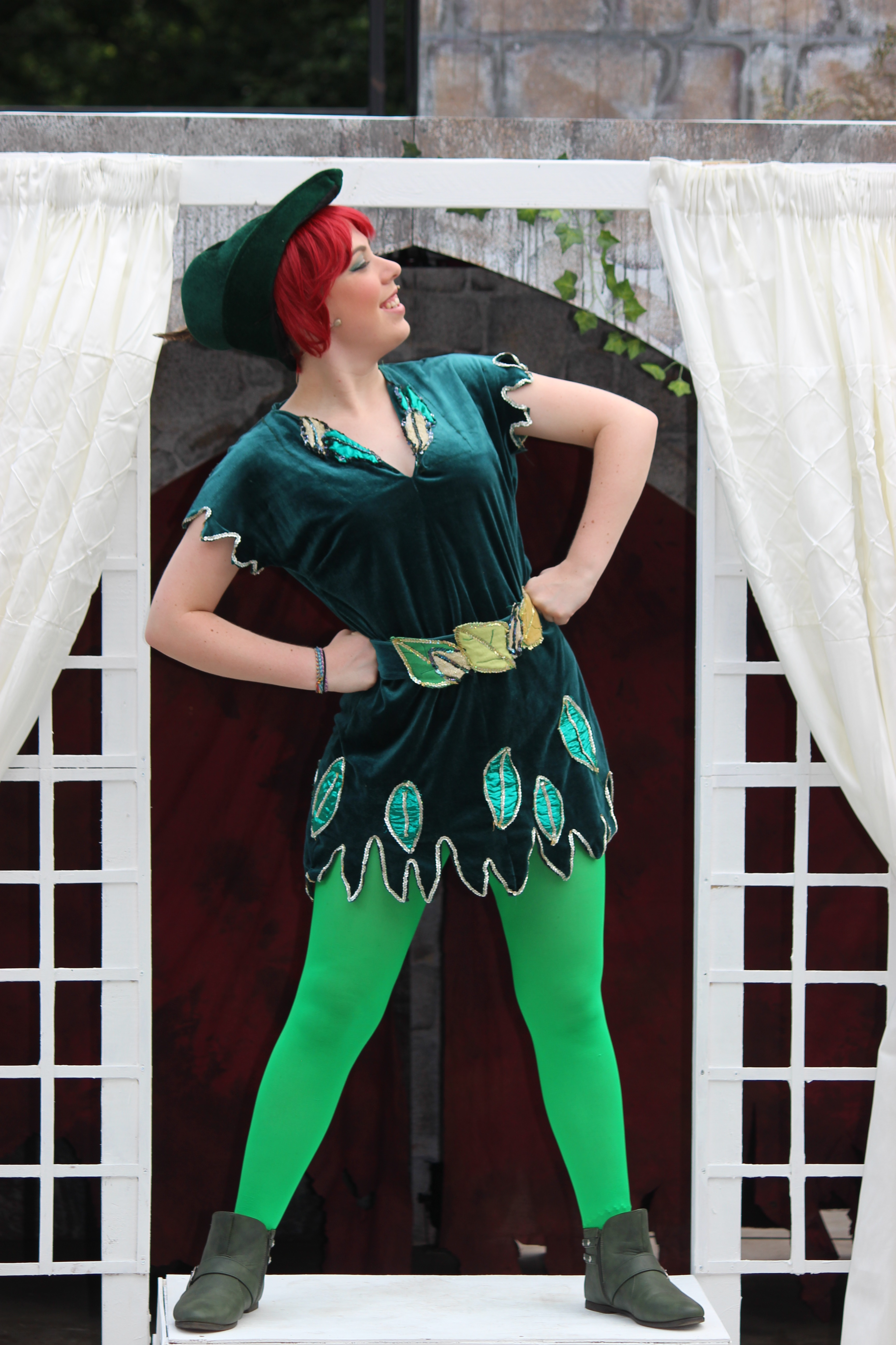 Emily March as Peter Pan