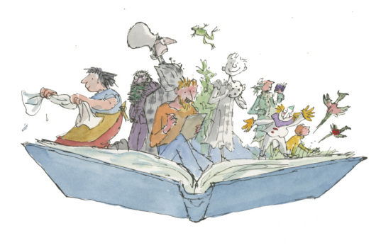 Quentin Blake Inside Stories National Museum Cardiff