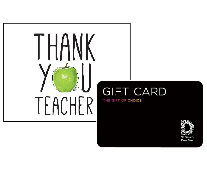 St David's Cardiff teacher vouchers 2