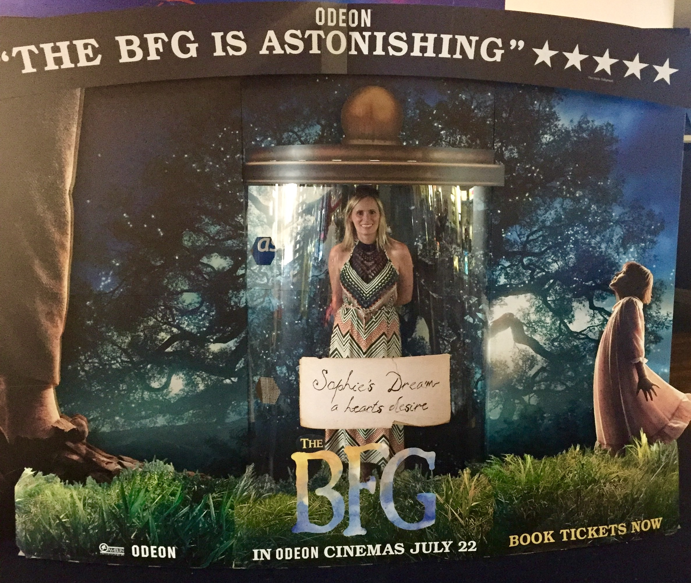The BFG Dream Jar Odeon