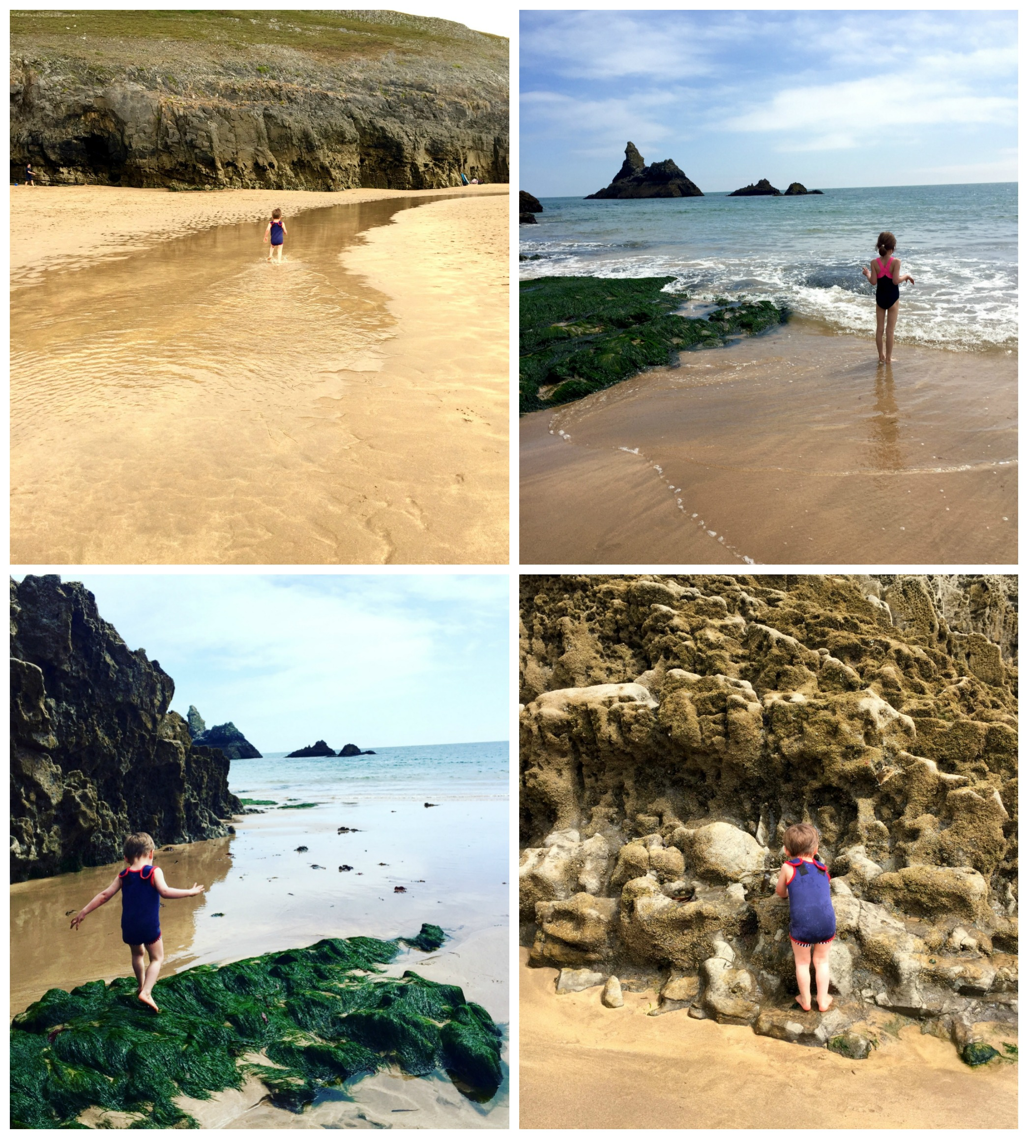 Broad Haven South collage