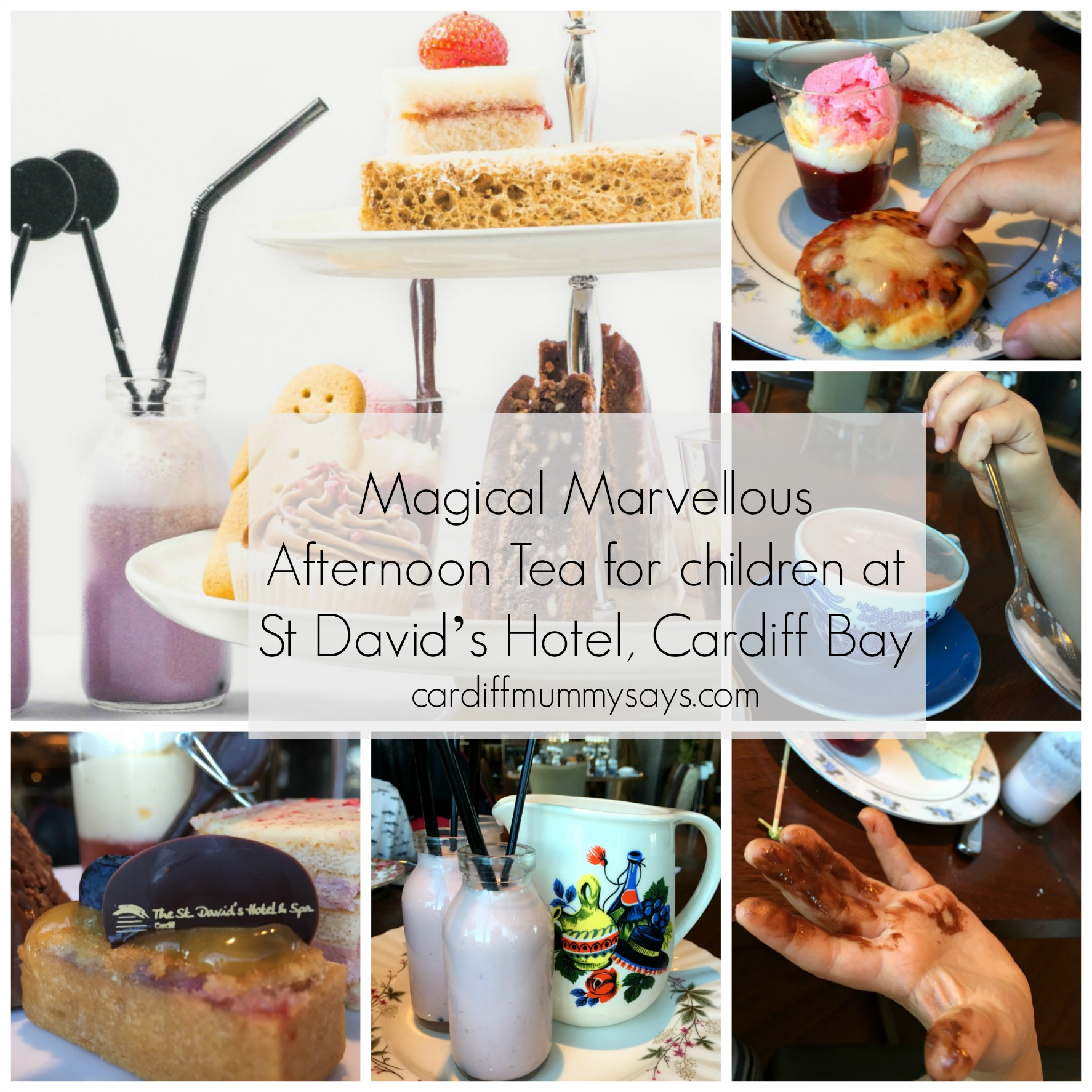 Review: Magical Marvellous Afternoon Tea for children at St David's Hotel, Cardiff