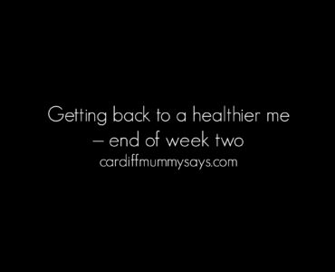 17 10 2016 healthier me end of week two