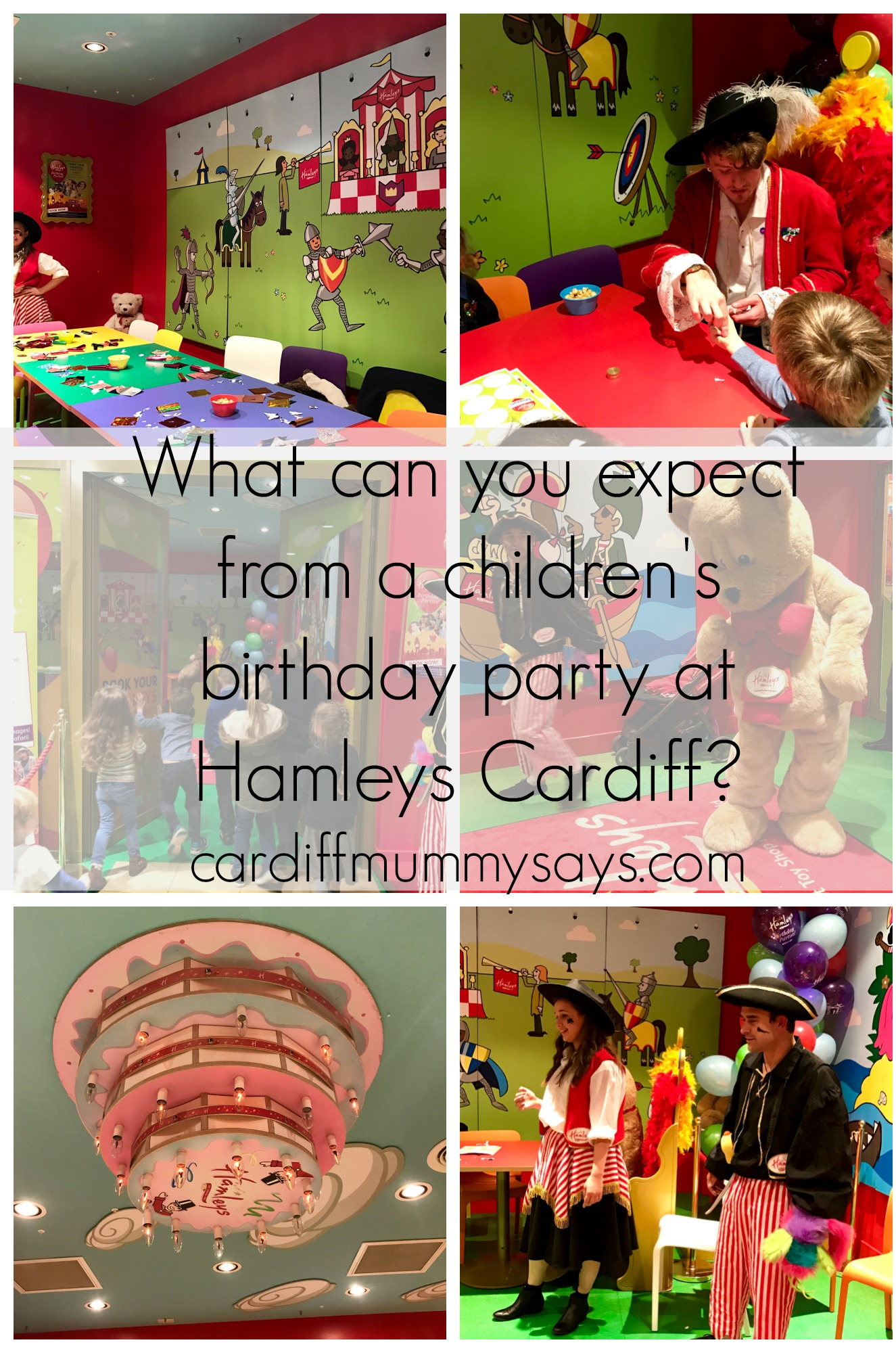 Hamleys Cardiff Birthday parties