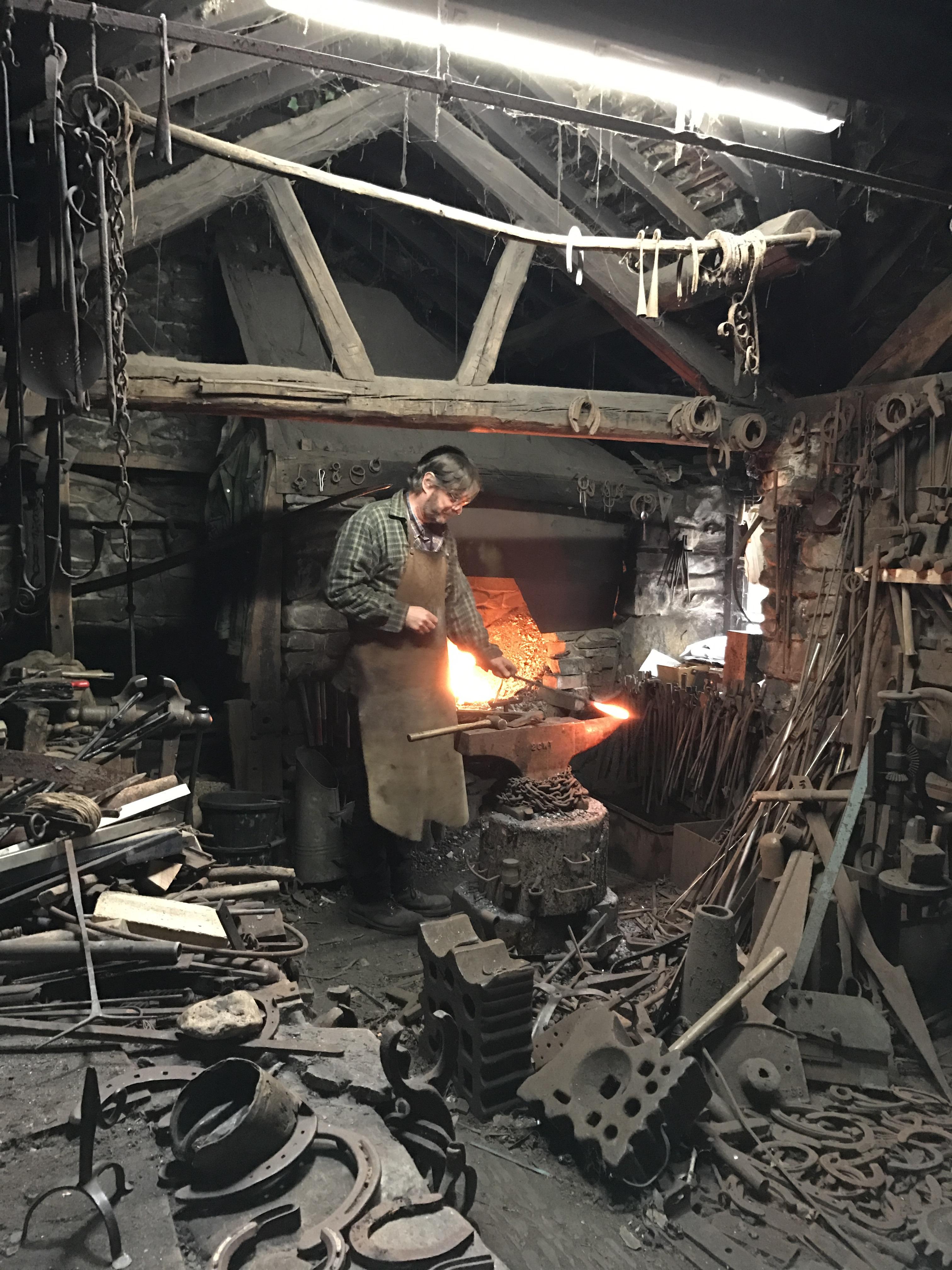 St Fagans blacksmith